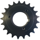 "H80Q21 21-Tooth, 80 Standard Roller Chain Split Taper Sprocket (1"" Pitch) - Froedge Machine & Supply Co., Inc."