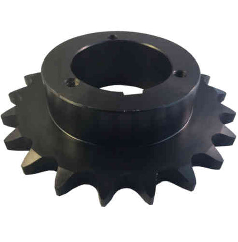 "H80Q21 21-Tooth, 80 Standard Roller Chain Split Taper Sprocket (1"" Pitch)"