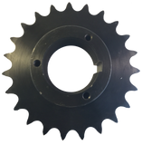 "H60Q23 23-Tooth, 60 Standard Roller Chain Split Taper Sprocket (3/4"" Pitch) - Froedge Machine & Supply Co., Inc."
