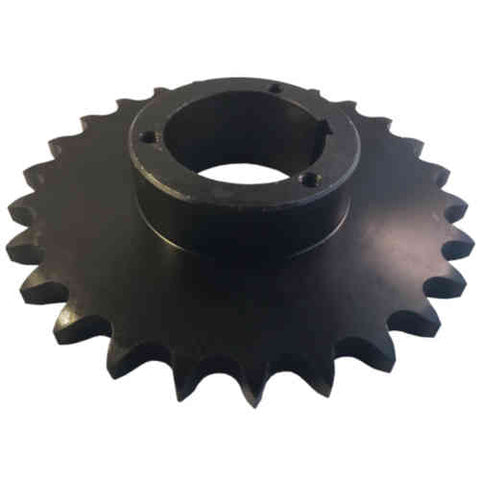 "H80Q26 26-Tooth, 80 Standard Roller Chain Split Taper Sprocket (1"" Pitch)"