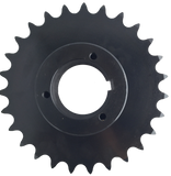 "H80Q27 27-Tooth, 80 Standard Roller Chain Split Taper Sprocket (1"" Pitch) - Froedge Machine"