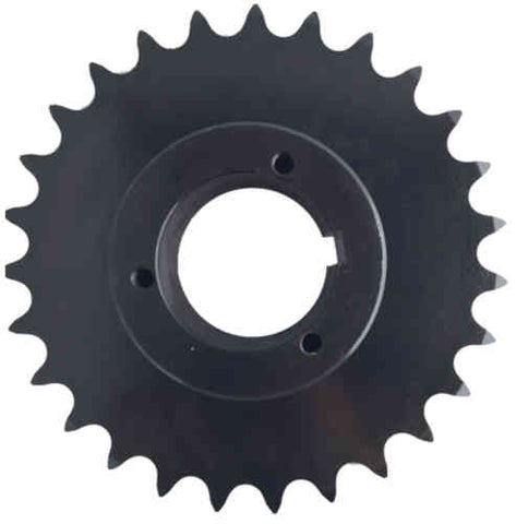 "H80Q27 27-Tooth, 80 Standard Roller Chain Split Taper Sprocket (1"" Pitch)"