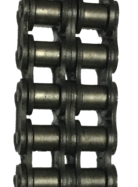 "HKK 2-Strand #40 Standard Riveted Roller Chain (0.500"" Pitch) - SOLD BY THE FOOT"