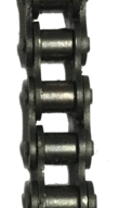 "HKK #40 Standard Riveted Roller Chain (0.500"" Pitch) - SOLD BY THE FOOT"