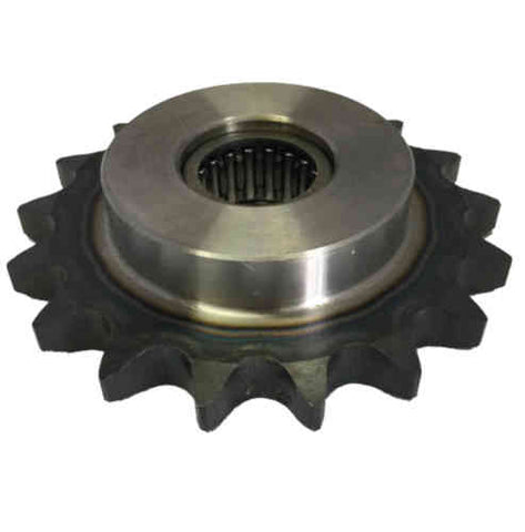 "HN60B17 17-Tooth, 60 Standard Roller Chain Type B Idler Sprocket (3/4"" Pitch)"