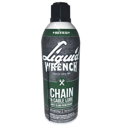 Liquid Wrench Chain & Cable Lube (L711) 11 oz. can