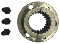 "P1X138-21 P1 Bushing with 21-Splined Bore (1 3/8"" Bore) - Froedge Machine & Supply Co., Inc."
