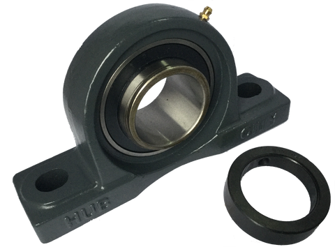 "PB220DRWX2316 Pillow Block Bearing (2 3/16"" Bore) - Froedge Machine & Supply Co., Inc."