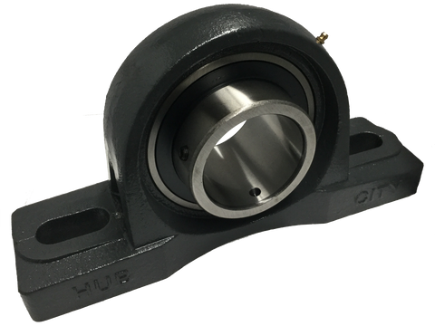 "PB350X3716 Pillow Block Bearing (3 7/16"" Bore) - Froedge Machine & Supply Co., Inc."