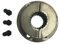 "Q1X138-21 Q1 Bushing with 21-Splined Bore (1 3/8"" Bore) - Froedge Machine & Supply Co., Inc."