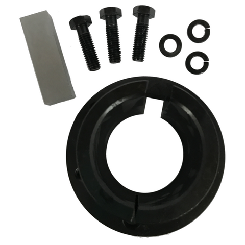 "Q1 X 2-1/8 Split Taper Bushing with Finished Bore (2 1/8"" Bore)-Q1X218 - Froedge Machine"