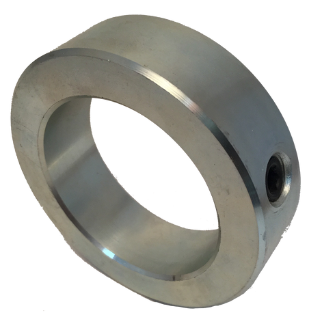 "SET1916 Zinc Solid Set Collar (1 9/16"" Bore, 2 1/2"" O.D.) - Froedge Machine & Supply Co., Inc."