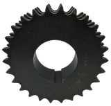 "T60Q26 26-Tooth, 60 Standard Roller Chain Split Taper Triple Sprocket (3/4"" Pitch) - Froedge Machine & Supply Co., Inc."