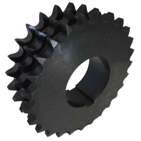 "T60Q26 26-Tooth, 60 Standard Roller Chain Split Taper Triple Sprocket (3/4"" Pitch)"