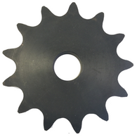 "DS100A13 13-Tooth, 100 Standard Roller Chain Type A Double Single Sprocket (1 1/4"" Pitch) - Froedge Machine & Supply Co., Inc."