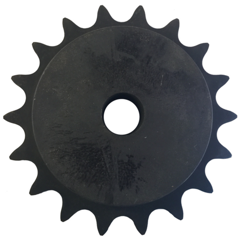 "H80B18 18-Tooth, 80 Standard Roller Chain Type B Sprocket (1"" Pitch) - Froedge Machine"