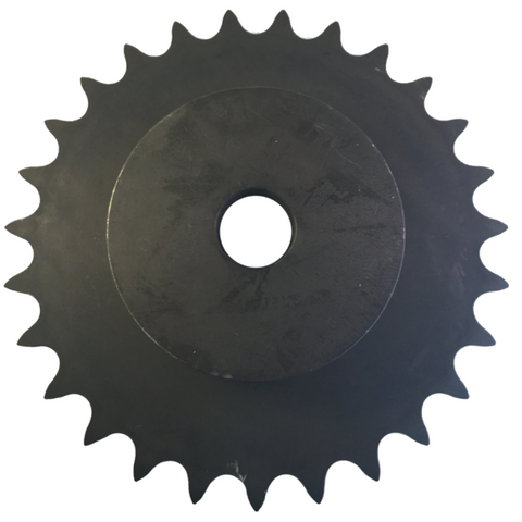 "H80B27 27-Tooth, 80 Standard Roller Chain Type B Sprocket (1"" Pitch) - Froedge Machine & Supply Co., Inc."