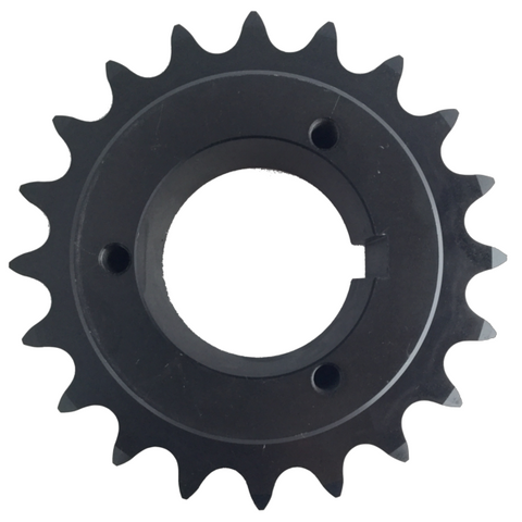 "H80Q20 20-Tooth, 80 Standard Roller Chain Split Taper Sprocket (1"" Pitch) - Froedge Machine"