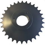 "H80Q30 30-Tooth, 80 Standard Roller Chain Split Taper Sprocket (1"" Pitch) - Froedge Machine"