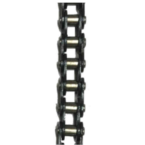 "HKK #25 Standard Riveted Rollerless Split Bushing Chain (0.250"" Pitch) - SOLD BY THE FOOT"