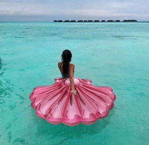 Pink Seashell Float
