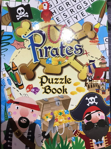 Pirate Puzzle Book