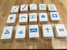 Symbol Snap cards