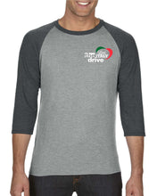 "Men's Baseball Tee - The Drive ""Heart"" or ""Pizza"""