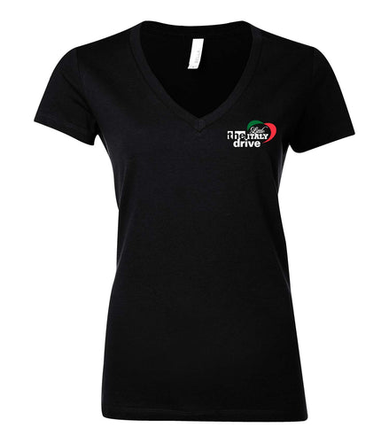 Ladies Deep V Tee - The Drive
