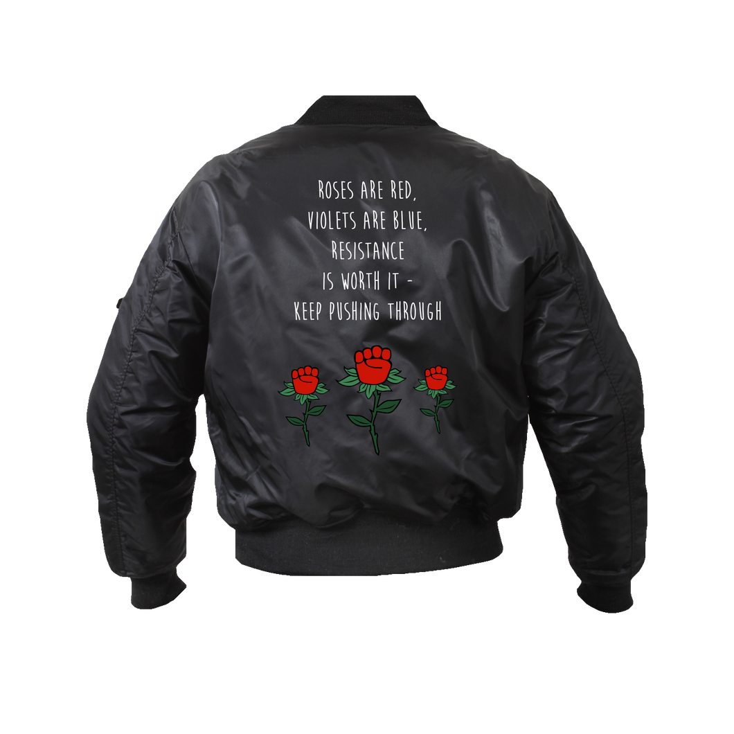 [DONATE] Resist Bomber Jacket