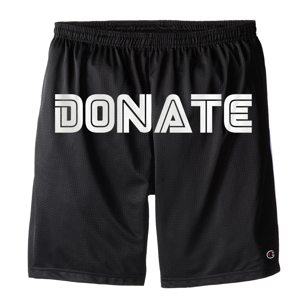 CloneWolf - Donate Mesh Champion Shorts