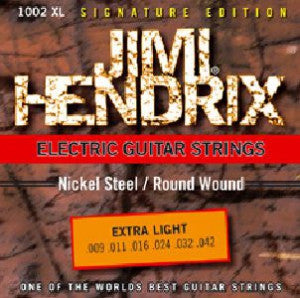 "Jimi Hendrix ""Signature Edition"" Strings for electric guitar 1002XL 009 – 042"