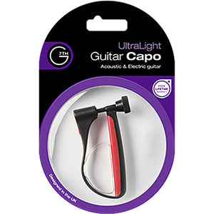 G7th UltraLight Capo for Steel-String Guitar (Red)