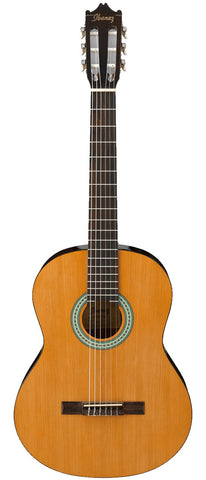 Ibanez GA3AM Classical Acoustic Nylon String Guitar Amber Finish