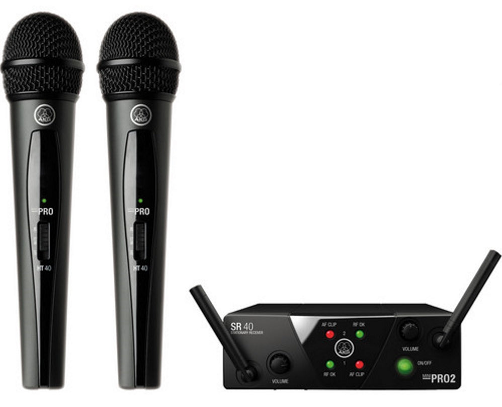 AKG WMS 40 Mini2 Vocal Set Dual System