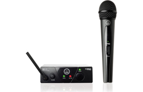 AKG WMS40 Mini Vocal Handheld Wireless Microphone Set