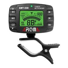 Aroma AMT-530 Clip-On Chromatic Tuner and Metronome