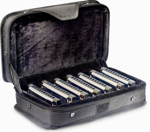 Stagg Blues harmonica set with case