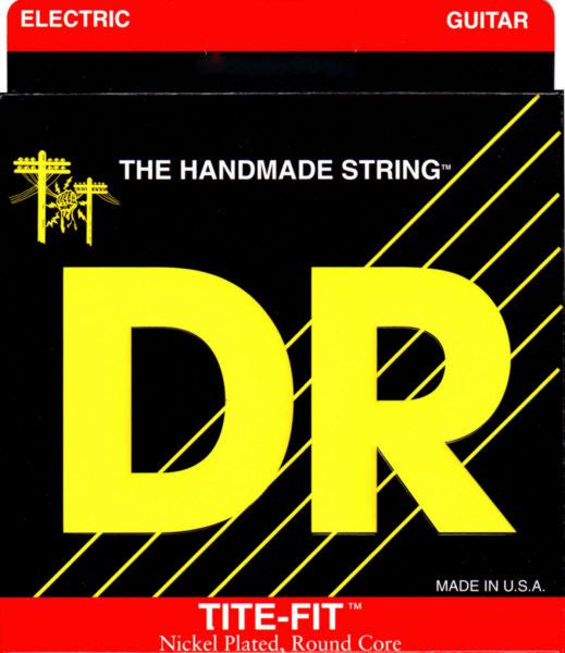 DR Tite-Fit Nickel Plated Electric Guitar Strings Lite-n-Tite 9-42
