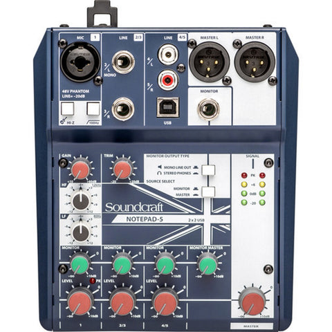 Soundcraft Notepad-5 Mixer