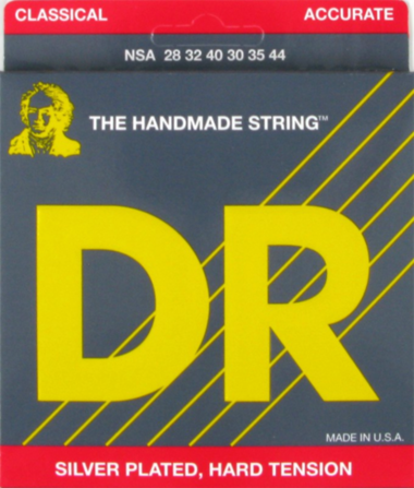 DR Strings NSA Nylon Classical Strings - Hard Tension