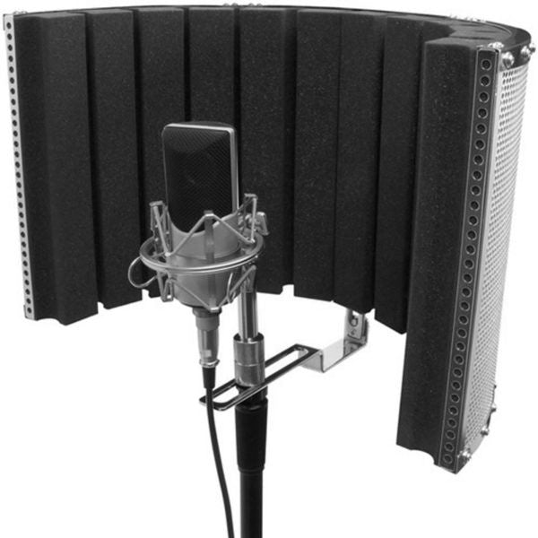 On-Stage Isolation Shield and Stand-Mounted Acoustic Enclosure