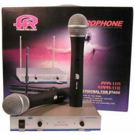 PPA11A: 2CH Professional Wireless Microphone System