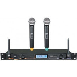 PPA61: 2-Channel UHF Wireless Microphone System