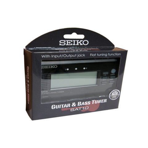 Seiko Chromatic Guitar Bass Electronic Tuner Sat10be
