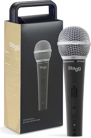 Stagg Professional cardioid dynamic microphone with cartridge DC78 SDM-50