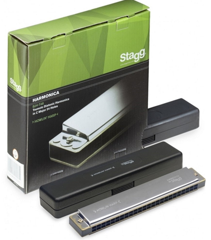 Stagg BJH-T48 Tremolo Diatonic Harmonica in C Major