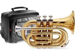 Stagg Bb Pocket Trumpet TR245