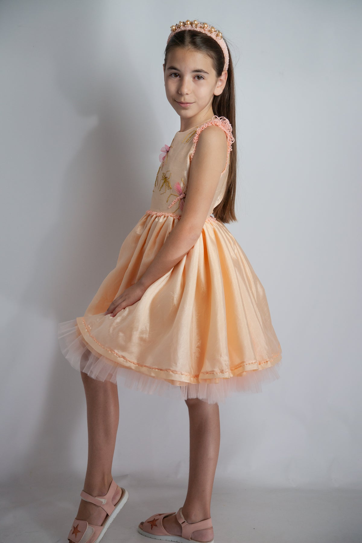 Pinky Silk Dream Dress