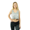 Breeze Crop Top - Concrete